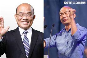 韓國瑜,蘇貞昌,市長,爬樹,行政院長,淹水