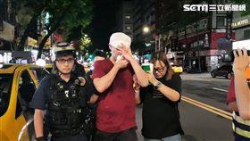 台北市民生東路酒店爆發酒客鬥毆衝突事件(翻攝畫面)