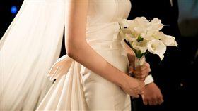 婚禮、新郎、新娘、新人示意圖/翻攝自pixabay