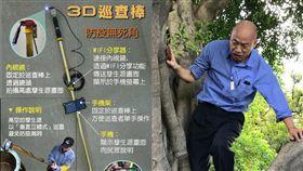 韓國瑜,爬樹,台北市,高雄,3D巡查棒