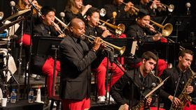 美國國家青年爵士樂團訪台 月底台中演出美國國家青年爵士樂團(National Youth Orchestra Jazz)集結全美各州最優秀青年爵士音樂家,盼以音樂為橋梁,連結世界,30日將在台中國家歌劇院演出。(牛耳藝術提供)中央社記者趙靜瑜傳真 108年7月23日