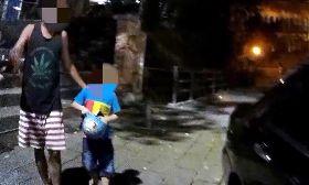 8歲男童外出迷途  暖心警助尋返家路