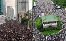台灣總有人扯後腿?鄉民讚「香港超團結」 網:他們沒退路(合成圖/資料照)