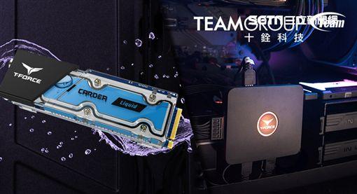十銓,COMPUTEX,T-FORCE CARDEA LiquidM.2 PCI-e水冷固態硬碟,T-FORCE CAPTAIN RGB 控制盒