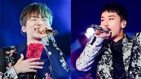勝利、大聲/翻攝自BIGBANG臉書