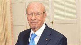 突尼西亞總統艾塞布西。(圖/翻攝自Wikimedia Commons)