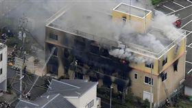 日本,京都動畫,縱火,濃煙竄升,安全門