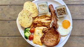 早午餐,戰斧豬排,牛排,厚切培根