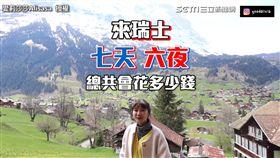 旅行瑞士一周花17萬! 神級美景網驚:童話世界