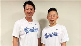 江國豪已到悍將二軍報到,很高興能繼續與王建民教練一起學習。
