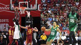 NBA/站著灌籃!綠軍簽下巨人新秀 NBA,波士頓塞爾提克,Tacko Fall 翻攝自推特