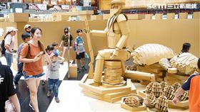 環保署,造紙公會,紙箱戰紀,台北車站,叢林紙迷宮