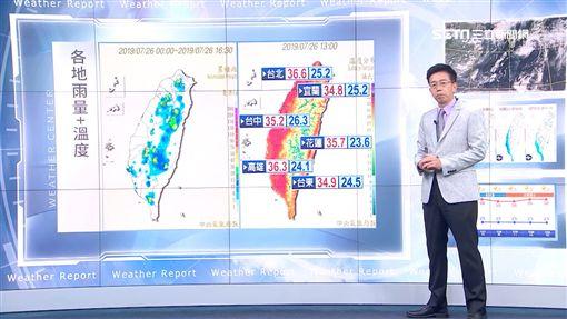 天氣,氣象,三立準氣象,降雨,颱風,百合,吳德榮