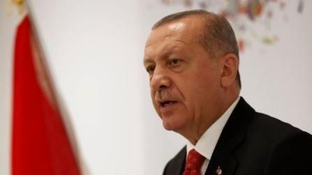 土耳其總統艾爾段,Recep Tayyip Erdogan。(圖/翻攝自推特)