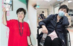 現年70歲的資深影星甄珍/入院。