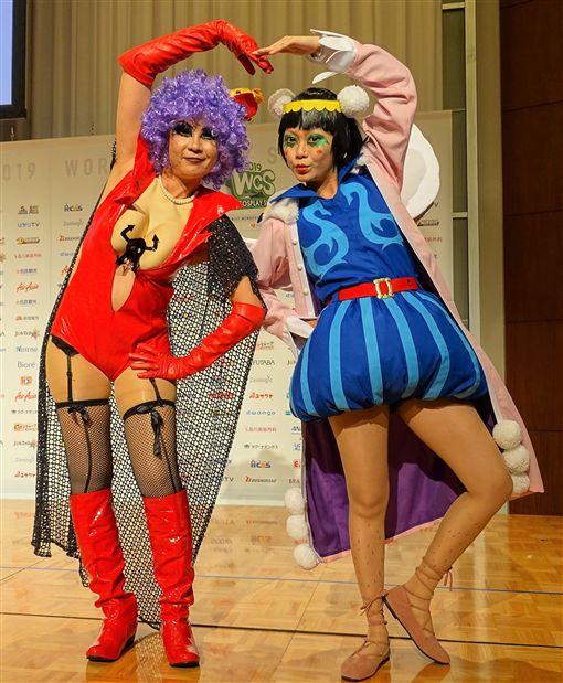世界COSPLAY高峰會(WCS)2019於26日在東京舉行開幕式,本屆有來自台灣、日本等約40國共80人參賽,台灣布袋戲角色扮演將首度登上WCS參賽。