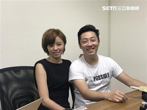 王瞳、艾成(圖/記者朱慕涵攝影)
