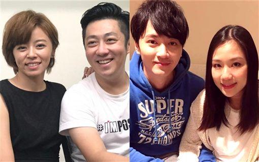 馬俊麟和老婆梁敏婷/王瞳跟「男友」艾成。