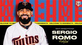 ▲Sergio Romo加入雙城隊牛棚。(圖/雙城隊推特)