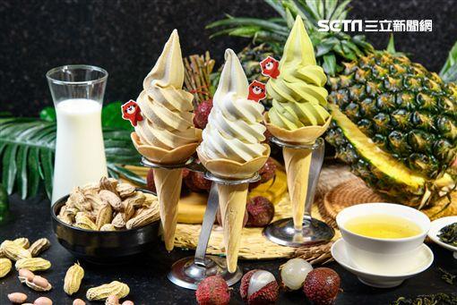 大心,霜淇淋,蜷尾家,限定口味,瓦城泰統