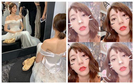 郭雪芙在劇中所使用的都是嬌蘭彩妝品 嬌蘭提供 以及 翻攝郭雪芙臉書