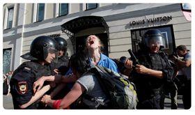 俄羅斯,莫斯科,假選舉,被捕,抗爭