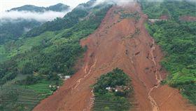 中國,貴州,山崩,失蹤,搜救