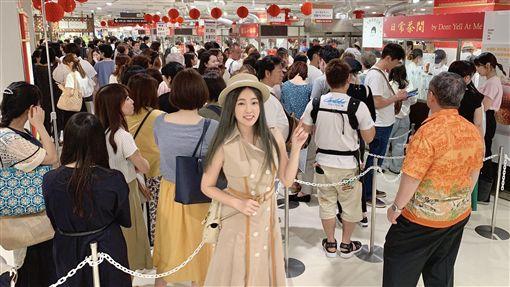 丫頭手搖店進軍插旗日本大受歡迎。(圖/「不要對我尖叫」提供)