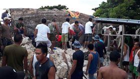 菲律賓巴丹群島,蘭嶼,地震,達悟族人,救災