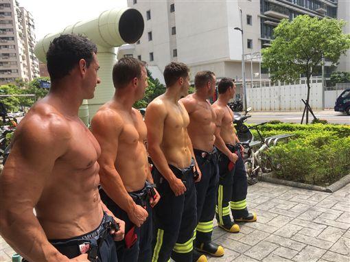 新北市,澳洲,消防,猛男,月曆