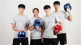 台北世大運跆拳道對打團體(圖/大專體總提供)