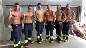 新北市,澳洲,消防局,消防月曆,交流,體力,美肌