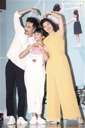 「俗女養成記」首映記者會,陳竹昇、于子育、吳以涵。(圖/記者林士傑攝影)