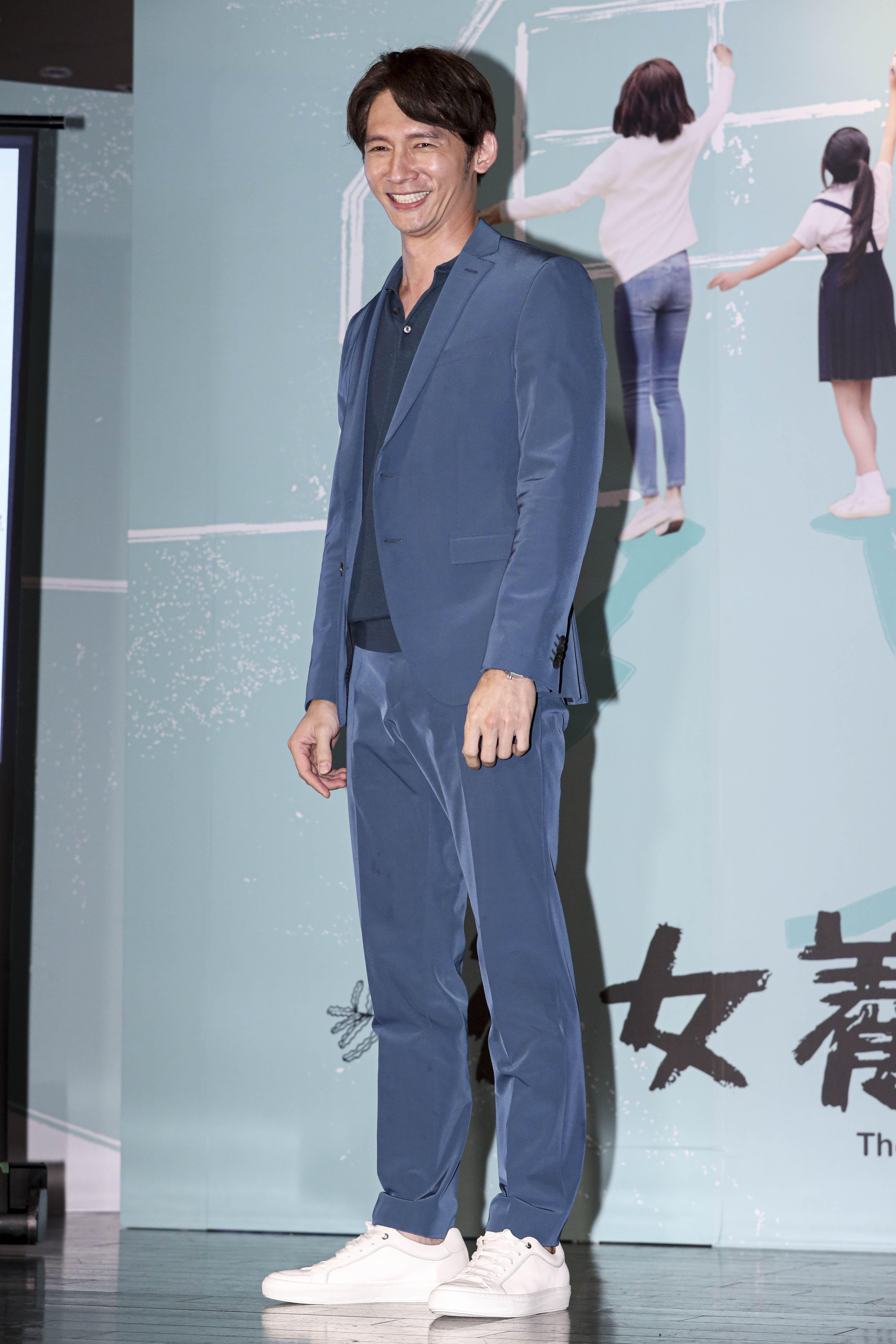 「俗女養成記」首映記者會,溫昇豪。(圖/記者林士傑攝影)