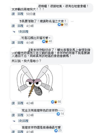 高雄點網友對來福看法,臉書