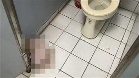 清大,廁所,鬼娃,鬼月,挫屎(翻攝自臉書)