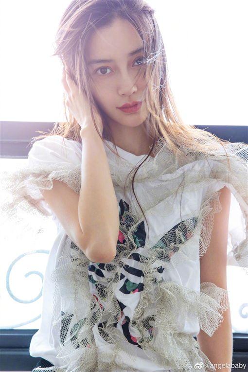 Angelababy(圖/微博)