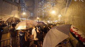0730反送中情形(圖/翻攝自香港城市大學學生會編輯委員會臉書)