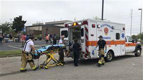 Walmart Shootingj,美國密西西比州沃爾瑪店爆槍擊 2死2傷(圖/美聯社/達志影像)