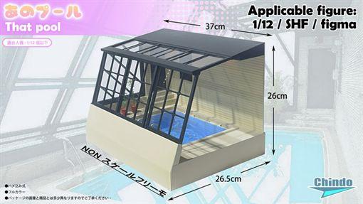 老司機追夢!AV那個泳池模型推募資 590港幣送到家(圖/翻攝自kickstarter)
