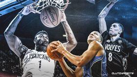 NBA/夢幻灌籃大賽!戈登想戰他們 NBA,灌籃大賽,Aaron Gordon,Zach LaVine,Zion Williamson 翻攝自推特ClutchPoints