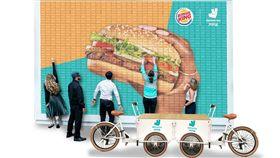 外送平台,戶戶送,Deliveroo,漢堡王,卡熱,華堡牆,火烤牛肉沙拉