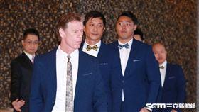 ▲中華職棒選秀會,中信兄弟總教練伯納。(圖/記者林士傑攝影)