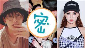 安七炫 熱戀 車模 宇宙安 圖/微博 IG 韓網
