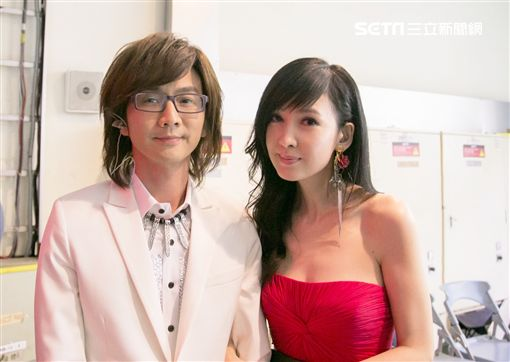 周慧敏和林隆璇(照片提供:寬宏藝術/福茂唱片)