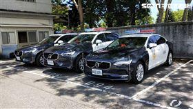 全台最貴交通分隊!4輛「瑞典戰車」加BMW重機 驗收照片曝光(圖/花蓮警分局提供)