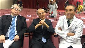 柯文哲出席聯醫轉診記者會/臺大醫院副院長陳石池 盧冠妃攝