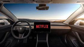 ▲特斯拉將支援播放Netflix、Youtube(圖/翻攝網路)