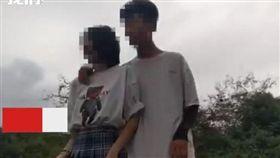 站鐵軌拍網美照!情侶下秒被火車噴飛 中國大陸