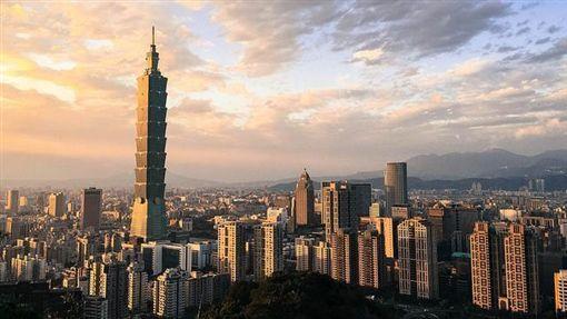 台北市、台北101、城市、台灣(Flickr/David Hsieh)https://goo.gl/2Qr4Xp